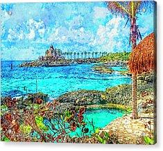 Paradise Acrylic Print by Susan Leggett
