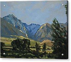 Paradise Valley Mountains Acrylic Print