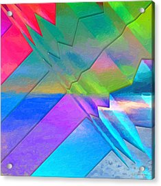 Parallel Dimensions - The Multiverse Acrylic Print by Serge Averbukh
