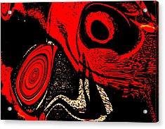 Paranoid Acrylic Print by Max Steinwald