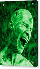 Paranoid Personality Disorder Acrylic Print by George Mattei