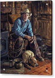 Pardners Acrylic Print