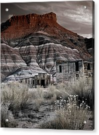 Paria Townsite Acrylic Print by Leland D Howard
