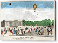 Paris: Bastille Day, C1801 Acrylic Print by Granger