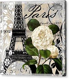 Paris Blanc I Acrylic Print