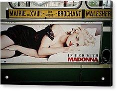 Paris Bus Acrylic Print
