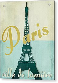 Paris City Of Light Acrylic Print