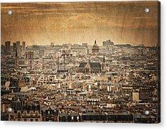 Paris Skyline Acrylic Print