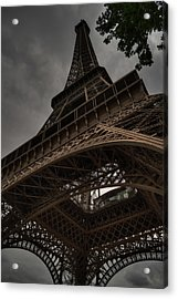 Acrylic Print featuring the photograph Paris - Eiffel Tower 003 by Lance Vaughn