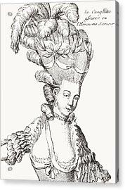 Paris Fashion, 1776 Acrylic Print