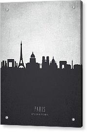 Paris France Cityscape 19 Acrylic Print