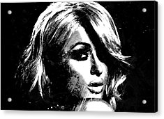 Paris Hilton S1 Acrylic Print by Brian Reaves