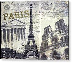 Paris Acrylic Print by Jon Neidert