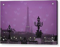 Paris Acrylic Print by Juli Scalzi