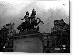 Paris King Louis Xiv Louvre Palace Monument - Paris French Kings  Acrylic Print