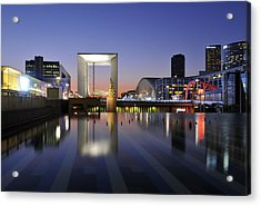 Paris La Defense Acrylic Print