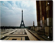 Acrylic Print featuring the photograph Paris by Lucian Capellaro