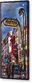 Paris Mulen Rouge Acrylic Print