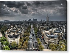 Paris No. 2 Acrylic Print
