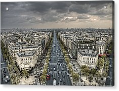 Paris No. 3 Acrylic Print