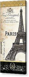 Paris, Ooh La La 1 Acrylic Print by Debbie DeWitt