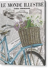 Paris Ride 1 Acrylic Print