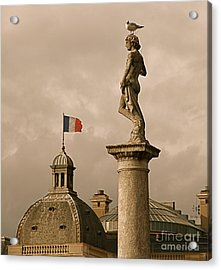 Paris Rooftops II Acrylic Print by Louise Fahy