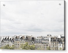 Paris Rooftops View From Centre Pompidou Acrylic Print