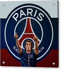 Paris Saint Germain Painting Acrylic Print