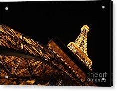 Acrylic Print featuring the photograph Paris by Wilko Van de Kamp