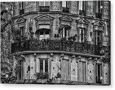 Parisian Apartment Acrylic Print