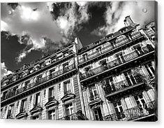 Parisian Buildings Acrylic Print by Olivier Le Queinec