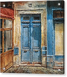 Parisian Door No.36 Acrylic Print