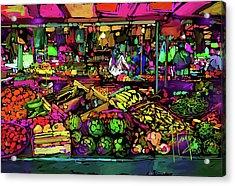 Parisian Market Acrylic Print