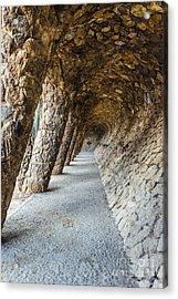 Park Guell Acrylic Print by Svetlana Sewell