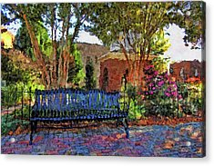 Park On Main Acrylic Print