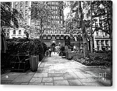 Acrylic Print featuring the photograph Park Patrol by John Rizzuto