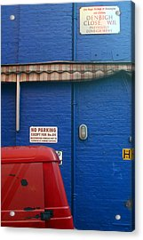 Park Thee Not Acrylic Print by Jez C Self