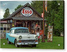 Parked At Ferland Motor Company Acrylic Print