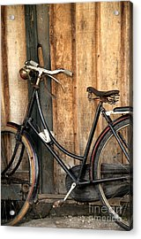 Parked Acrylic Print by Charuhas Images
