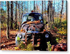 Parked Acrylic Print by Tom Johnson
