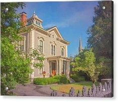 Parker House North Easton Acrylic Print