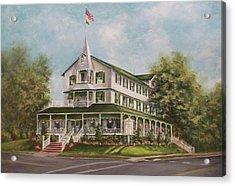Parker House Sea Girt , Nj Acrylic Print