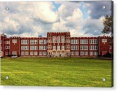 Parkersburg High School - West Virginia Acrylic Print by L O C
