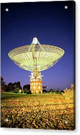 Parkes Radio Telescope Acrylic Print by Yury Prokopenko