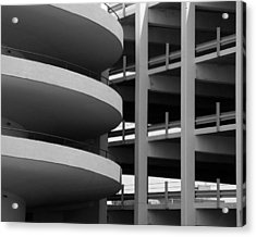 Parking Garage Acrylic Print by David April