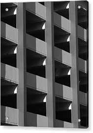 Parking Garage Milwaukee Abstract 2334 Acrylic Print