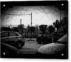Parking Acrylic Print by Mimulux patricia no No