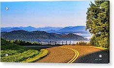 Parkway Morning Vista Acrylic Print