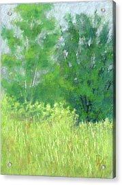 Parkway Trees Acrylic Print by David King